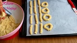 TIRTIL KURABİYE TARİFİ - Çikolatalı kuş yuvası tırtıl kurabiye nasıl yapılır - Kurabiye tarifleri