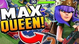 MAXED Archer Queen! Clash of Clans Town Hall 9 Farm to Max #11