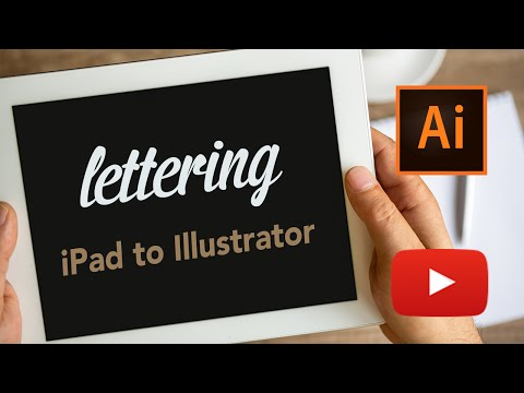 Live Lettering from iPad to Illustrator | Adobe Creative Cloud