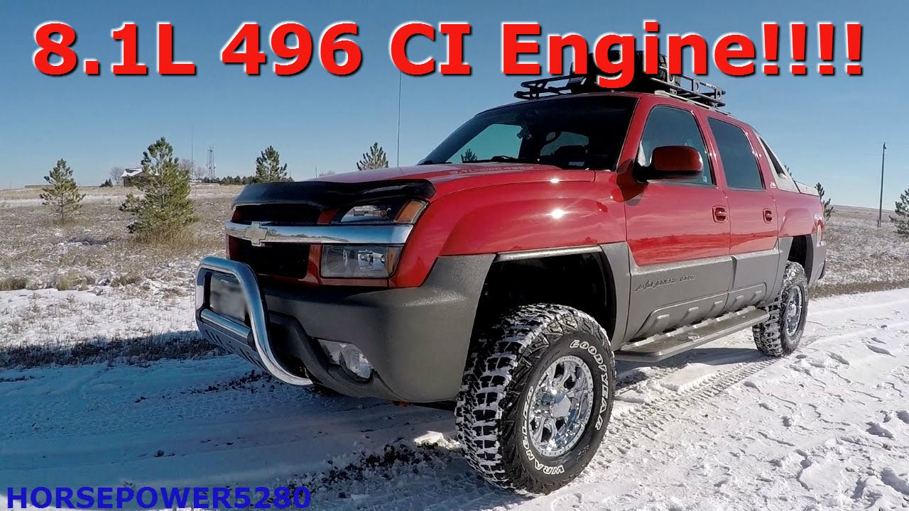 Chevy 2500 avalanche overview