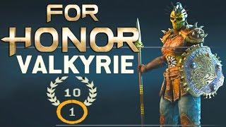 For Honor - PRESTIGE 10 VALKYRIE GAMEPLAY!
