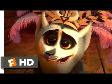 Madagascar 3 (2012) - King Julien Falls In Love Scene (4/10)   Movieclips