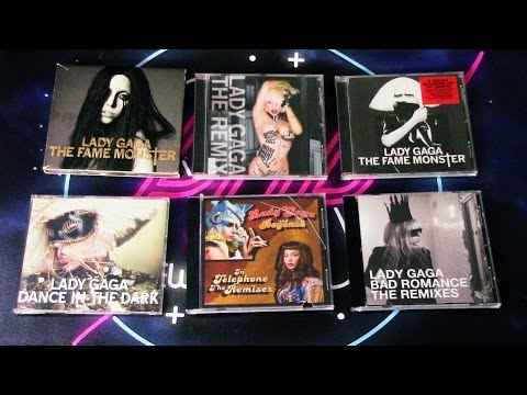 UNBOXING: Lady Gaga - The Fame Monster (Deluxe, EP, BluRay + Singles)