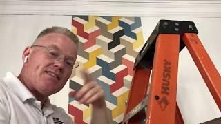 A York Wallpaper Accent Wall - Spencer Colgan