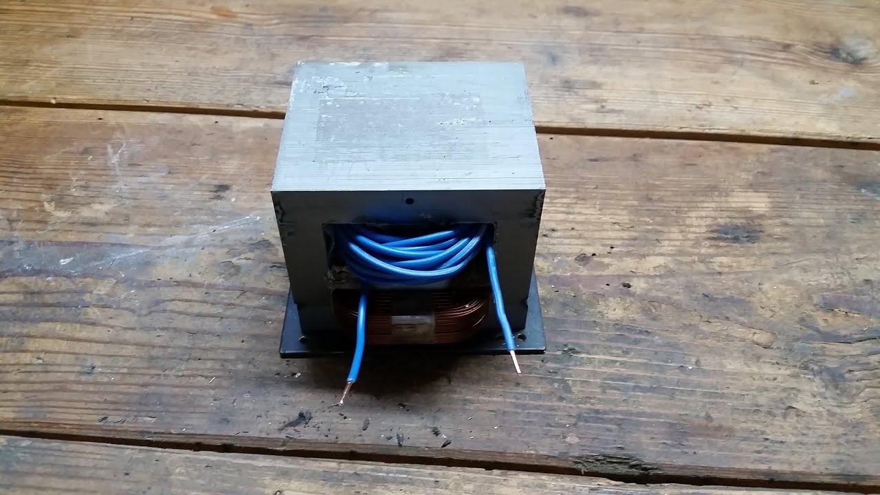 how 2 bogenlampe hochstromtrafo selber bauen youtube. Black Bedroom Furniture Sets. Home Design Ideas