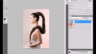 (Tutorial) #6: Как изменить цвет волос в программе Adobe Photoshop