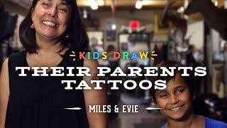 Miles Designs His Mom's First Tattoo | Kids Draw | Cut