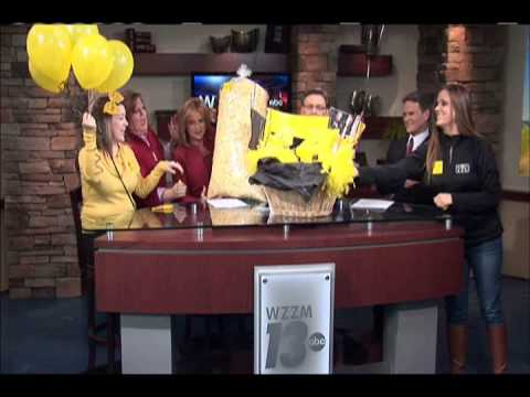 :aughFest Cloud-Bust Live on WZZM 13 2-1-2013