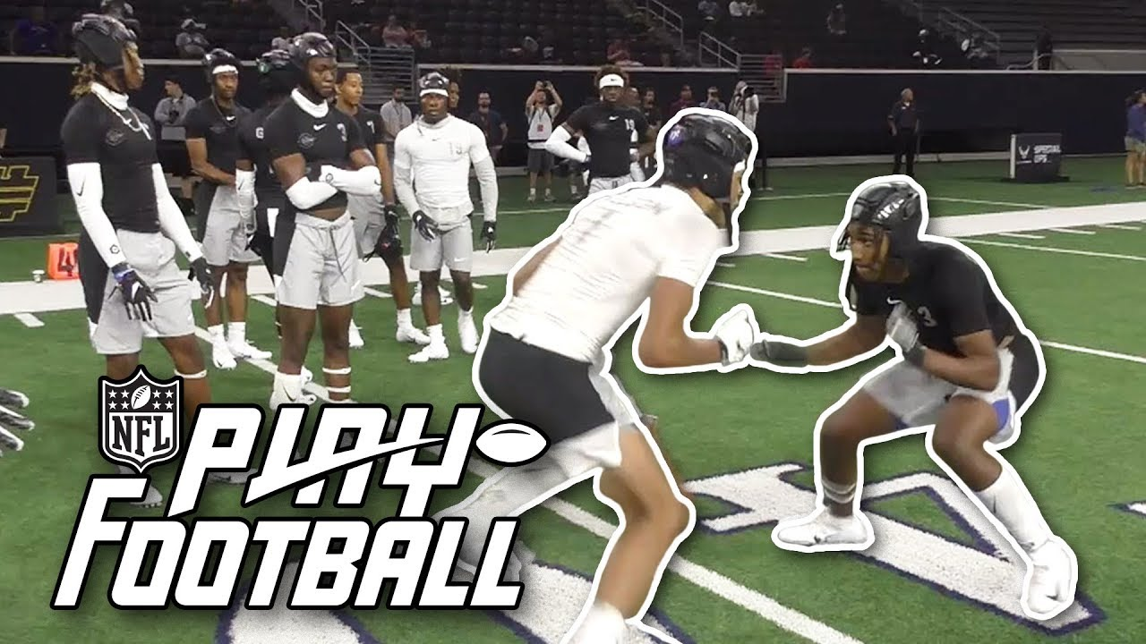Download Top D1 Commits Battle in Wide Receiver vs. Defensive Back 1-On-1