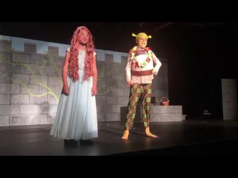 I Think I Got You Beat - Shrek The Musical Jr - Fraser Woods Montessori School 2017