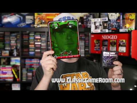 Classic Game Room - GALAXY WARS SL review for Vectrex