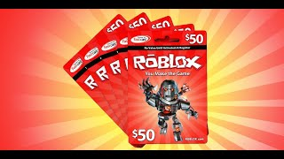 🔴Roblox - Gamecard Giveaway - Easy to Win - Free Robux - Live Stream