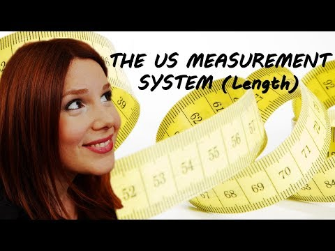 THE U.S. MEASUREMENT SYSTEM IN 4 MINUTES!!! (Part 1 - Length)