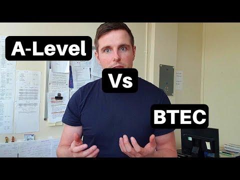 BTEC Vs A-Level | University Toolbox