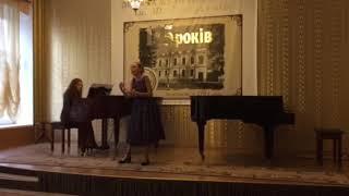 """Мариняк Софія 1 ПРЕМІЯ . Арія Керубіно з Опери """"Весілля Фігаро""""В.А.Моцарт 2018 р."""