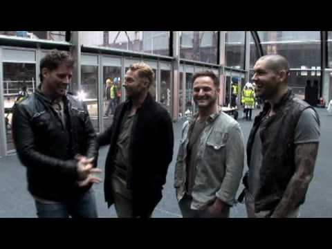Boyzone - The making of the 'Love Is A Hurricane' video