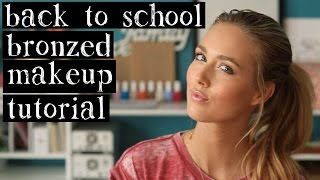 Back to School Bronzed Makeup - Quick and Easy - All Makeup Under $10 Each Thumbnail