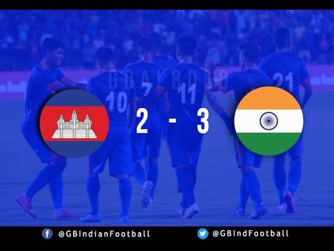 Highlights : Cambodia 2-3 India | GoalBold