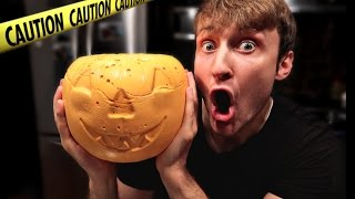 DIY GIANT MARSHMALLOW PUMPKIN TASTE TEST