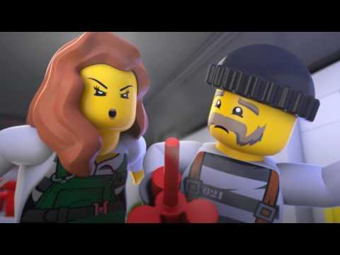 The Breakout Bunch Lego City Mini Movie лучшие приколы самое