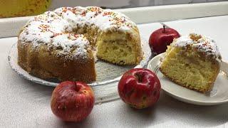 Шарлотка с яблоками /Рецепт