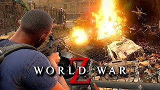 WORLD WAR Z Gameplay German - Dieser Zombie Angriff war zu viel