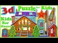 3D Puzzle Game Toys for Kids - Baby Bar House | New Games for Kids