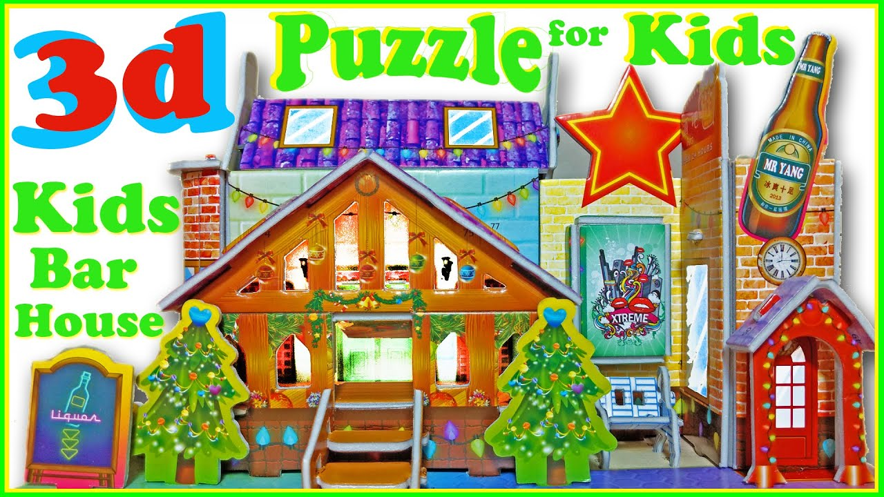 3D Puzzle Game Toys For Kids