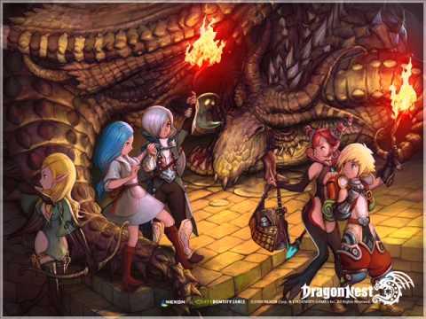 Dragon Nest SEA- Calderock village theme song (w/ lyrics)