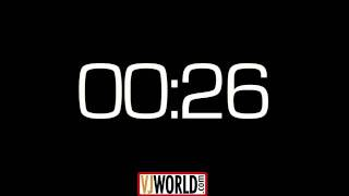 1 Minute Countdown Clock Timer
