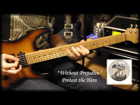 Protest The Hero - Without Prejudice (Guitar cover + TAB)