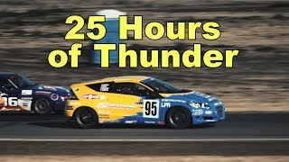 Spoon Sports Honda CRZ competes in the 25 Hours of Thunderhill