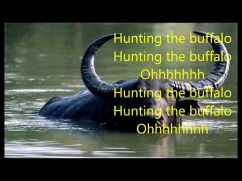 Hunting The Buffalo (with Lyrics) - Sally Barker