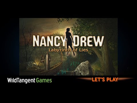Let's Play (was LIVE): Nancy Drew: Labyrinth of Lies - Gameplay (with commentary)