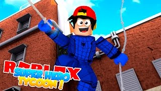 ROBLOX Adventure - ROPO IS THE BLUE SPIDERMAN!!