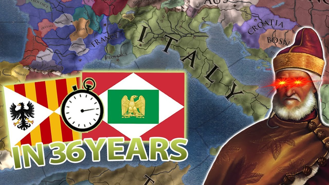 Download UNITE ITALY in 36 YEARS! - EU4 Nation Speedforming Italy!