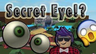 Secret Eye in LT2!? Roblox Lumber Tycoon
