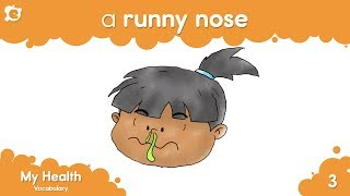 Health Vocabulary for Kids - Kids Learning Videos (Fun Children's Learning)