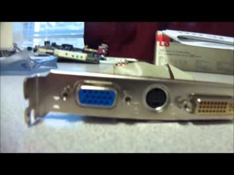 MSI Radeon X1050 Desktop Video Graphics Card