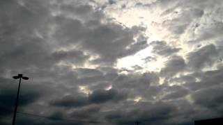 Partly cloudy skies in Western Pa  ha ha ha ha