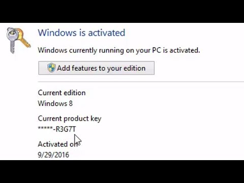 How to get your product key for Windows 7/8/10   FunnyDog.TV