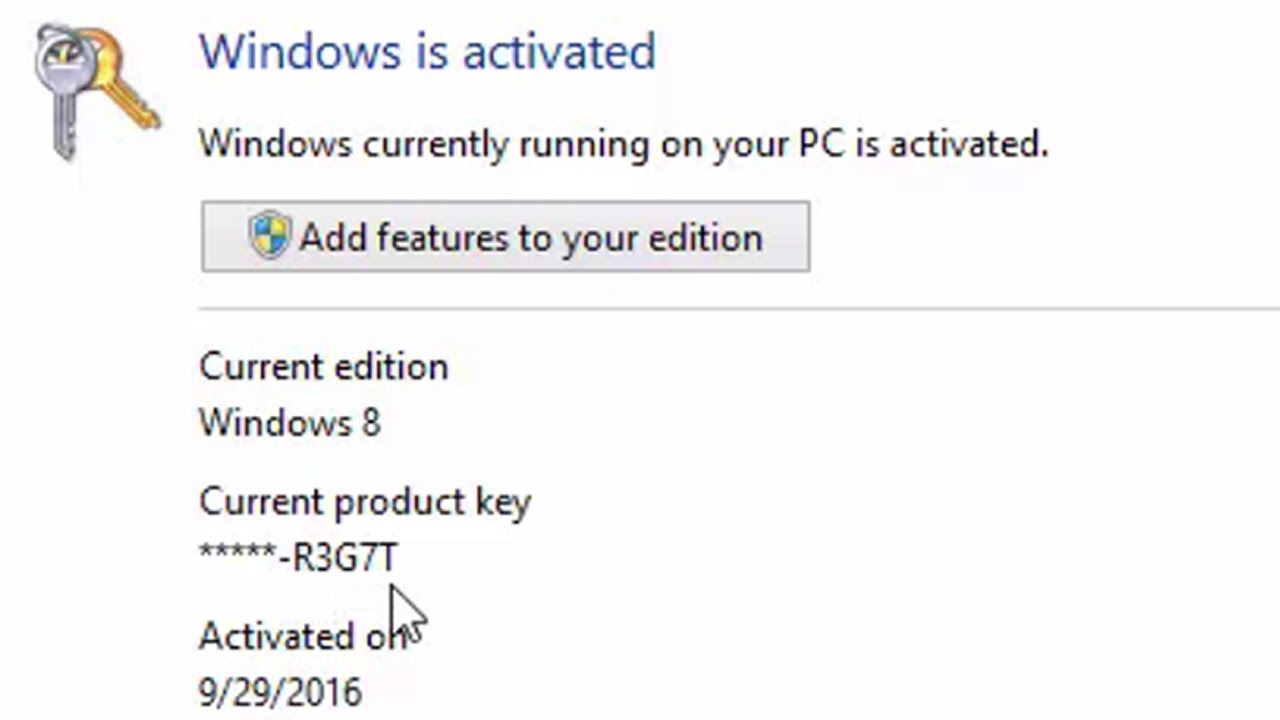 finding windows 10 product key