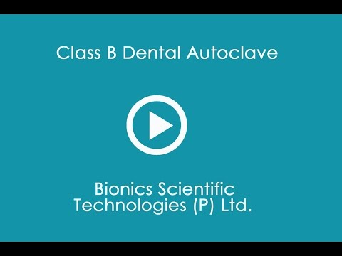 Class B Dental Autoclave Working Procedure