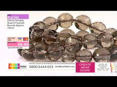[How to make Sari and Wirework Jewellery] - JewelleryMaker DI 21/12/14