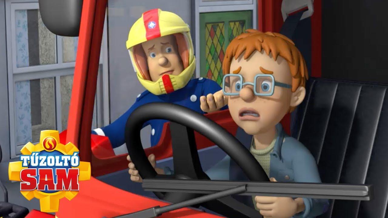 Irányíthatatlan járművek! | Új epizódok | Tűzoltó Sam | Rajzfilmek gyerekeknek