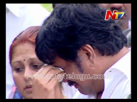 Akkineni Nagarjuna Emotional Crying Visuals