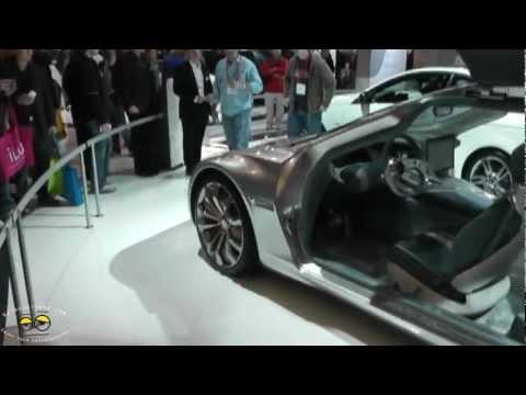 Mercedes-Benz F125 Concept Car @CES 2012