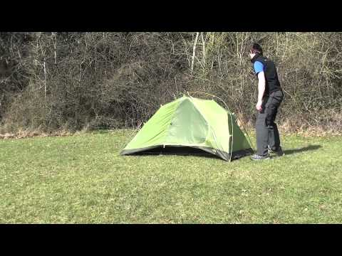 & How to pitch a the North Face Mica 1 tent - YouTube