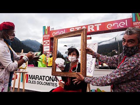 Impressions Maratona dles Dolomites - Enel 2021