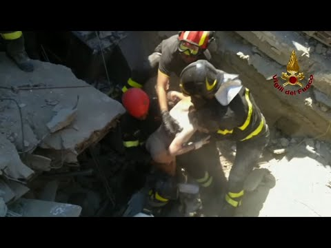 3 Brothers Rescued from Italian Quake
